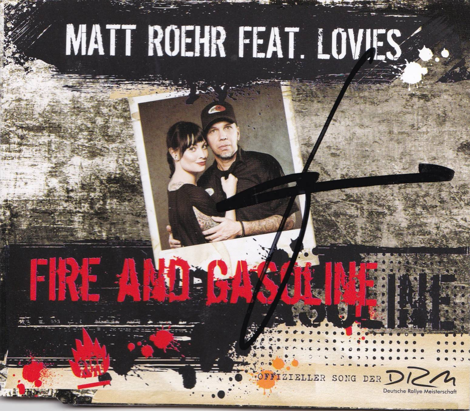 Fire and Gasoline Single (1)